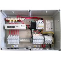 10A String Monitoring Solar Panel Combiner Box 1000V DC With Steel / PC Boxes Manufactures