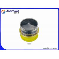 Helipad LED Aviation Obstacle Light With Solar Panel Die Casting Aluminum Manufactures