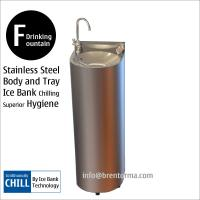 DF15C Free-standing Drinking Fountain Water Fountain with Ice Bank Cooling System Manufactures