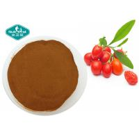 Lycium Barbarum Natural Botanical Extracts Fine Red Brown Healthy Security Manufactures