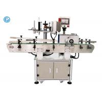 PLC Control Semi Automatic Label Applicator Machine , Electric Round Bottle Labeling Machine  Manufactures