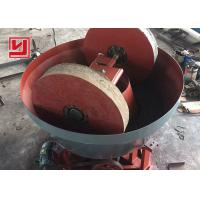 China Gold Ore Dressing Equipment Wet Pan Mill Biomass Pellet Barite Grinding on sale