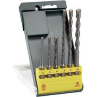 6PCS SDS Plus Hammer Drill Bit Set with Straight Tipped Sandblated Manufactures