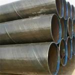 SSAW Carbon Steel Pipe API 5L Gr.A Gr. B X42 X46 ASTM A53 BS1387 DIN 2440