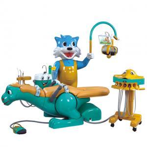 China Foshan Yayou A8000-IB Children Dental Chair Unit with Lovely dinosaur on sale