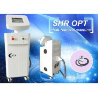 China Hair salon essential Permanent fast ipl shr hair removal machine with CE approved wholesale
