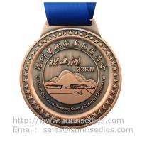 2D engraved metal medals and medallions