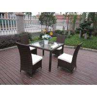 Excellent Rattan Garden Dining Sets For Dining Room / Conservatory Manufactures