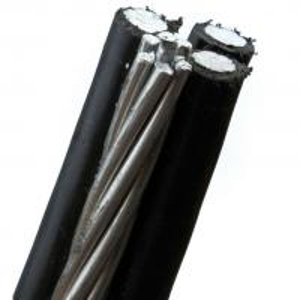 PE / XLPE Insulation Muti Core Aluminum Conductor Drop Wire 0.6KV / 1KV Manufactures