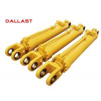 Truck Heavy Duty Hydraulic Cylinder Double Acting Chrome Engineering Manufactures