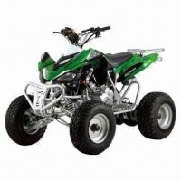 ATV with 250cc water-cooled engine, off-road/road legal both are available Manufactures