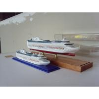 China Hand Painted Wooden Ship Models , Princess of the heyday Cruise Ship Model on sale