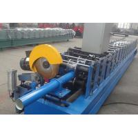 Buy cheap Commercial Building Downspout Roll Forming Machine High Cutting Accuracy from wholesalers