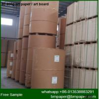 China BMPAPER White Top Test Liner Paper /Kraft Liner Board Paper for Packing Boxes on sale