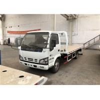 Flatbed Wrecker Tow Truck 1500kg Rated Lifting Weight Working Stroke 2680mm Manufactures