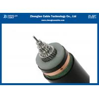 China 18/30(35kv) AL/XLPE/CTS/PVC Medium Voltage Power Cables Single Core Copper Tape Screened on sale