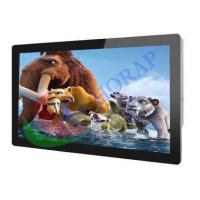 FHD 55 Inch Wall Mount LCD Advertising Player  WIFi  /  3G Android 1920 * 1080 Resolution Manufactures