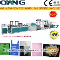 Quality ONL-A 700-800 Popular automatic non woven box bag making machine price for sale