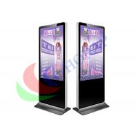 Floor Standing Hotel  LCD Advertising Player 4K 55 Inch Android  /  Windows Manufactures