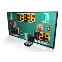 3 Colors LED Basketball Scoreboard With Wireless PC Software Controller Manufactures