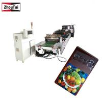 Plastic  Film Three Side Seal Pouch Making Machine 380V 50HZ Heavy Duty Manufactures