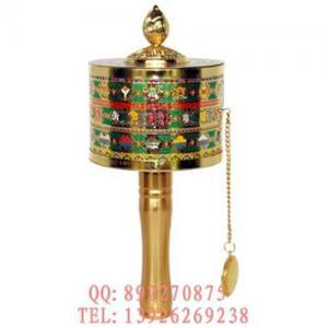 Tibetan Luck Transforming Prayer Wheel For Feng Shui Manufactures