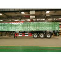 60 T Heavy Duty Semi Trailers Mechanical Suspension With FUWA Axle Manufactures