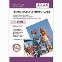 Resin Coated Photo, Water-proof, Suitable for Use with Dye and Pigment Inks