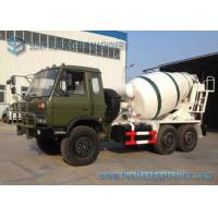 China Dongfeng 6 X 6 All Wheel Drive 5 M3 Concrete Mixture Truck Off Road on sale