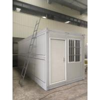 China Anti Sesmic Modular Folding Container House With Sandwich Panel Wall / Roof on sale