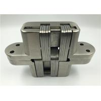 China Anti Fire Heavy Duty Concealed Hinges / Hidden Door Hinges 34x140x28mm on sale