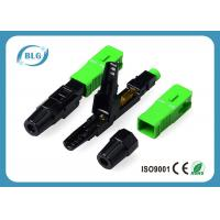 Lower Insertion Loss Fiber Optic Cable Connectors Reliable Environmental Performance Manufactures