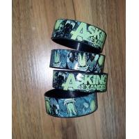 Quality Funny Custom Silicone Wristbands for sale
