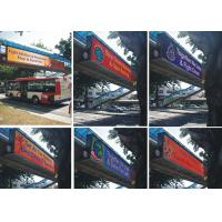 P10 SMD3535 outdoor advertising led display / front maintenance led display / 320mmx320mm led module Manufactures