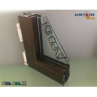 Construction AA6063 T5 Aluminium Window Profiles / Wood Aluminum Structural Shapes Manufactures