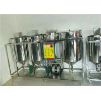 China Soybean Edible Oil Refinery Equipment Simple Structure Strong Maintainability on sale