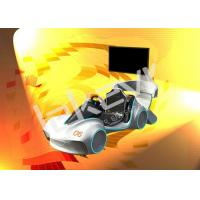 Attractive Leke Virtual Reality Car Simulator With Speeding Race 9D VR Simulator Manufactures
