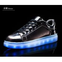 Rainbow color flashing led shoes Manufactures
