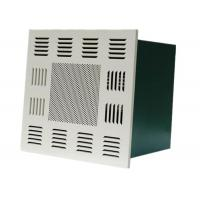 Quality Cleanroom Ceiling Terminal Hepa Filter Box Fan Air Purifier For Food Industrial for sale
