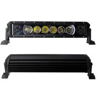 LED Car Light Bar 60 Watt 4000lm Single Rows With Skull Logo Which Change With Working Voltage And The Power Manufactures