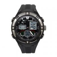 China Dual time analog waterproof mens digital watches , fashion digital sports watch OEM on sale
