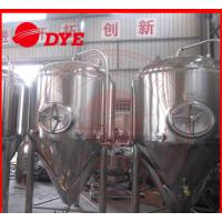 1000L Industrial Beer Brewing Equipment With Pressure Relief Valve Manufactures