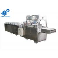 China Button Control Chocolate Production Machines 400mm Mesh Width High Performance on sale