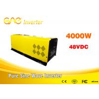 China dc ac off grid solar inverter pure sine wave 48v to 220v 4000w home inverter for all kinds of appliances on sale