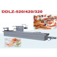 Automatic Stretch Vacuum Snacks Food Packaging Machine / Shrinking Film Packing Machine Manufactures