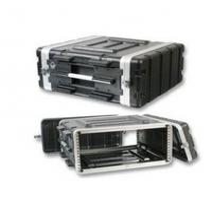 Low Maintenance 4U Rack Flight Case Aluminium Construction Rack Mount Case Manufactures