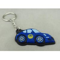 Customized Colorful PVC Keychain , 3D Soft PVC Promotional Key Tag Manufactures