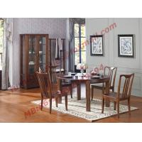 Can Folding and Opening Dining table in Solid Wooden Dining Room Set Manufactures