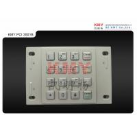 Bombproof USB Automated Teller ATM Machine EPP Metal Numeric Keypad , 4 x 4 Keys Manufactures