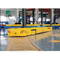China 7 T battery operated transfer carriage with large table and running on curved rails on sale